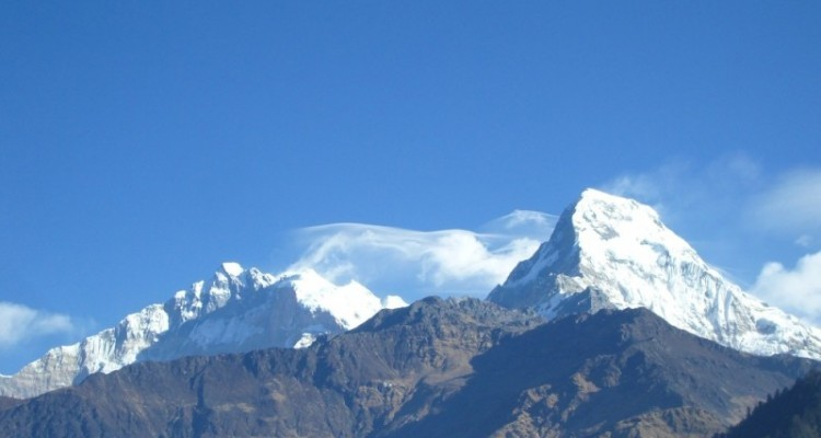 Annapurna Panchase hill trekking