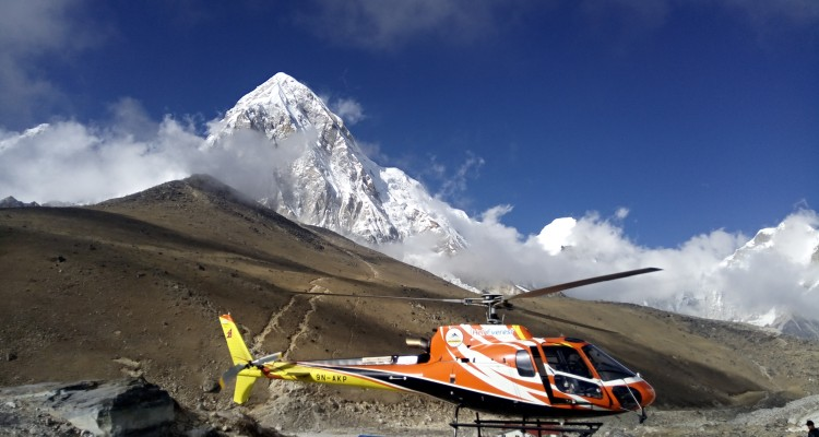 HELI TOUR IN EVEREST NEPAL