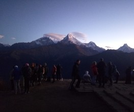 Annapurna trekking and Volunteering