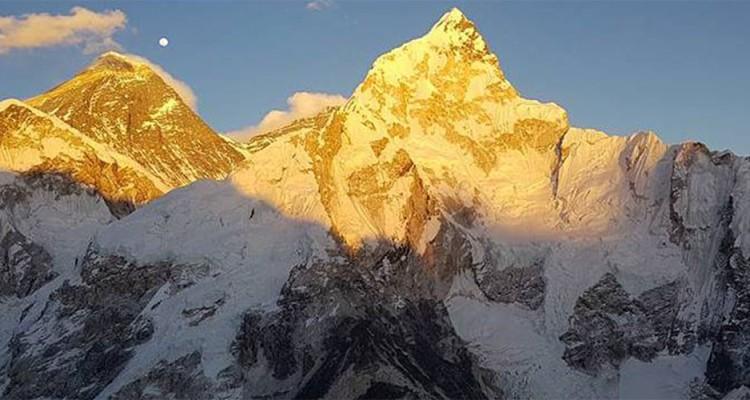 Sunset on Mt. Everest & Nuptse