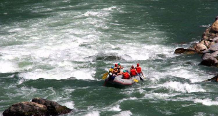 Rafting experience in nepal