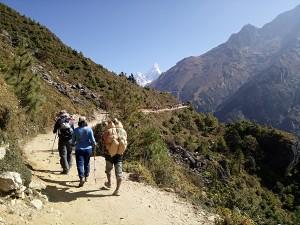 Monsoon trekkers increasing in Nepal