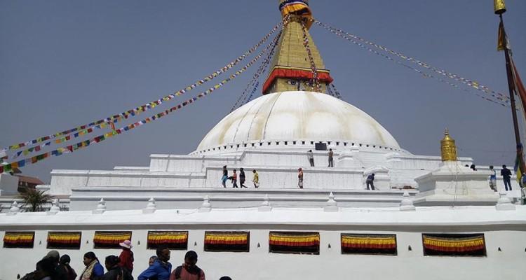 Baudda-stupa