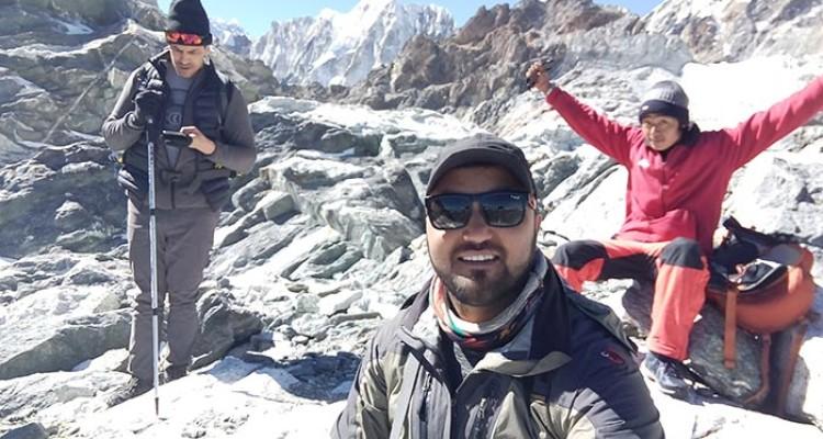 Wonderful EBC and Chola Pass Trekking