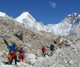 Kalapathar (5550 meters) Top