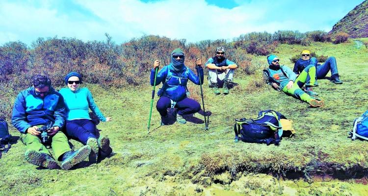 kanchejunga trekking and hiking