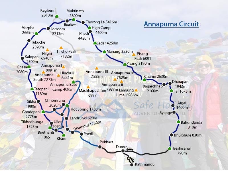 Mini Annapurna Circuit Trekking Mini Short Annapurna