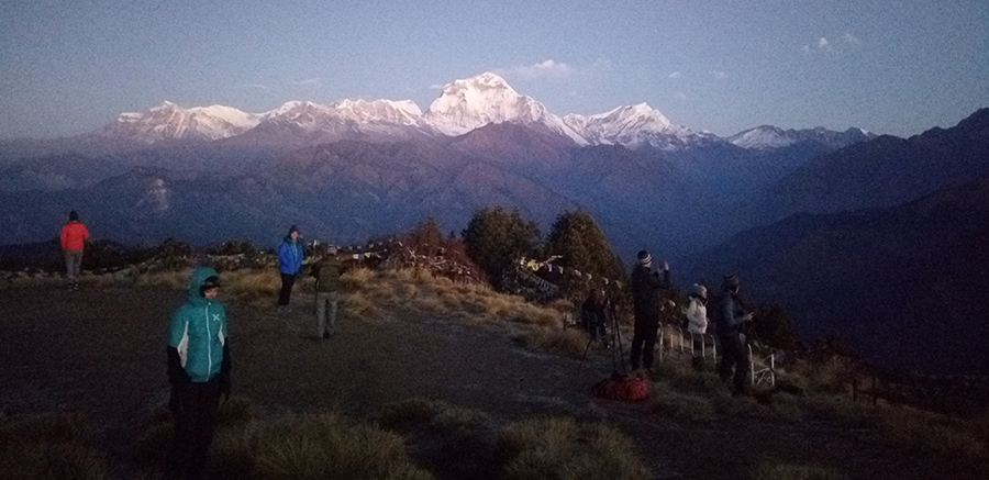 Massif Dhaulagiri Mountain-8167m