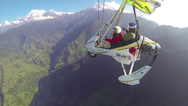 Paradise ultra light flight