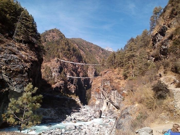 Great Himalaya trails- Near Namche in Everest region