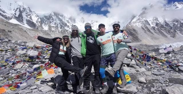 Climbing tour in Nepal