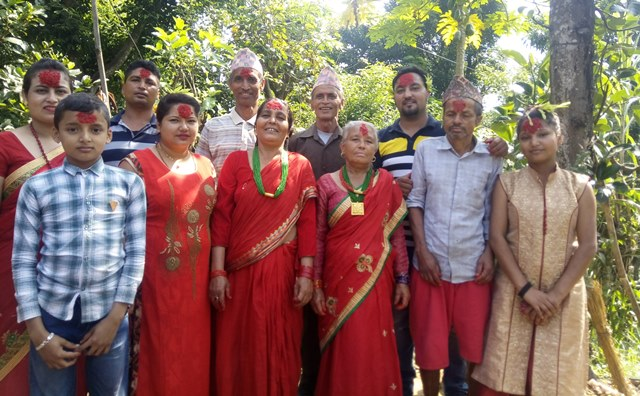 Best time to visit in nepal- dasain festival